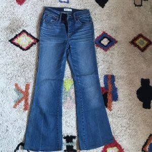 Madewell high waisted flare jeans
